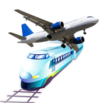 Schedule of trains and planes